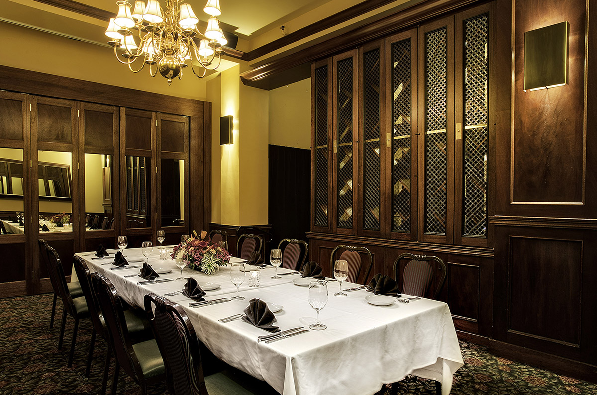 Private Dining The Metropolitan Grill